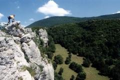 Penjališta preko 250 m nadmorske visine
